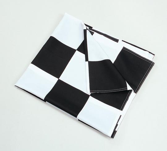 Chequered Flag Black/White 3 x 5 Thumbnail 1