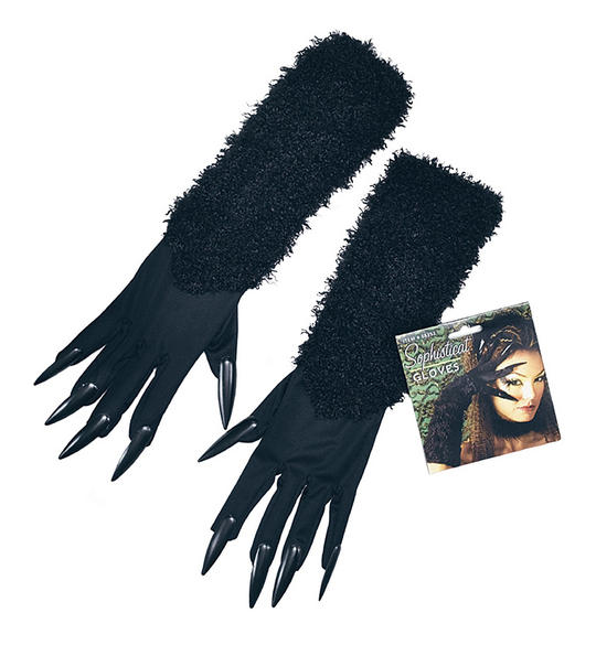 Cat Gloves With Claws Thumbnail 1