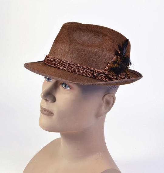 Oktoberfest Hat. Brown Thumbnail 1