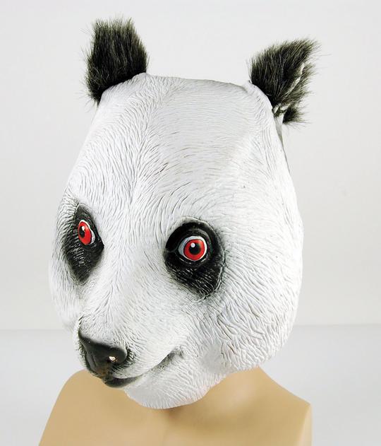 Panda Rubber Overhead Mask Thumbnail 1