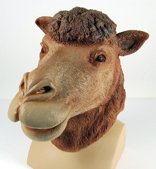 Camel Rubber Overhead Mask Thumbnail 1