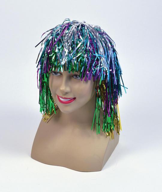 Tinsel Wig.  Multi Thumbnail 1