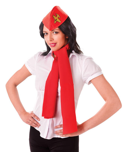 Air Hostess Kit (Hat + Scarf) Thumbnail 1