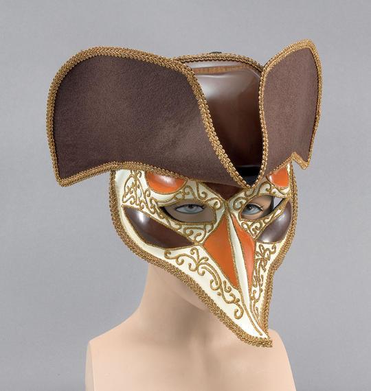 Highwayman Venetian Mask. Deluxe Thumbnail 1
