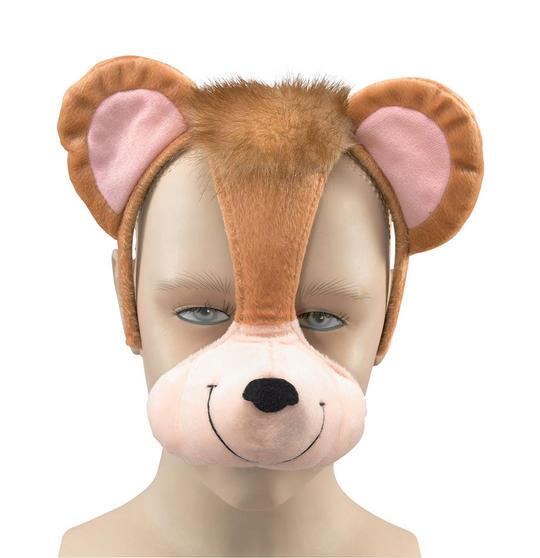 Monkey Mask On Headband +Sound Thumbnail 1