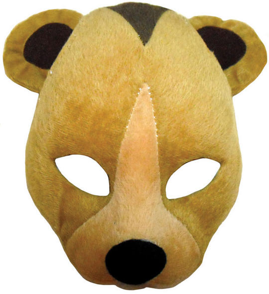 Bear Mask On Headband + Sound Thumbnail 1
