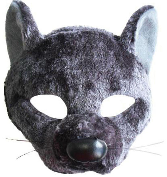 Rat Mask On Headband With Sound Thumbnail 1