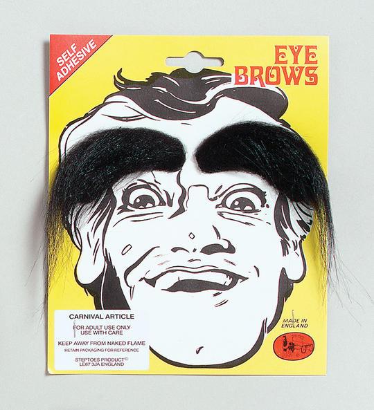 Eyebrows. Black Thumbnail 1