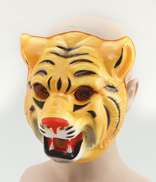 Plastic Animal. Tiger Thumbnail 1
