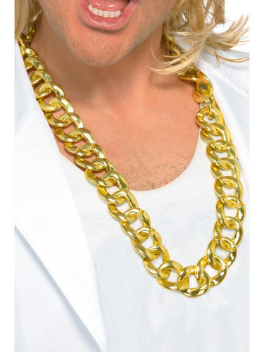 Chunky Necklace Gold Thumbnail 2