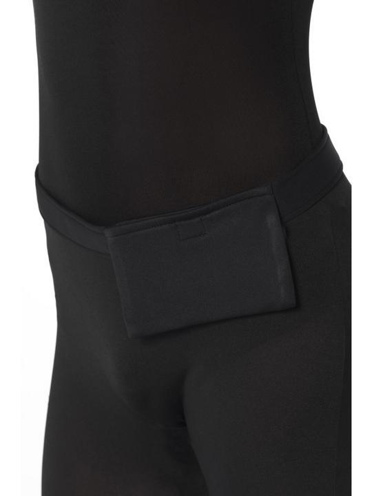 Black Second Skin Suit Fancy Dress Costume Thumbnail 3