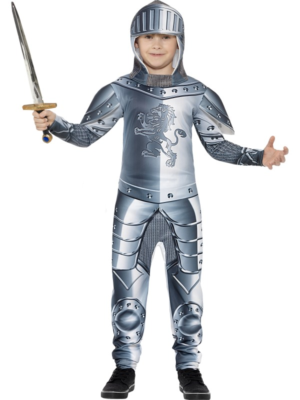 Armoured Knight Fancy Dres Costume