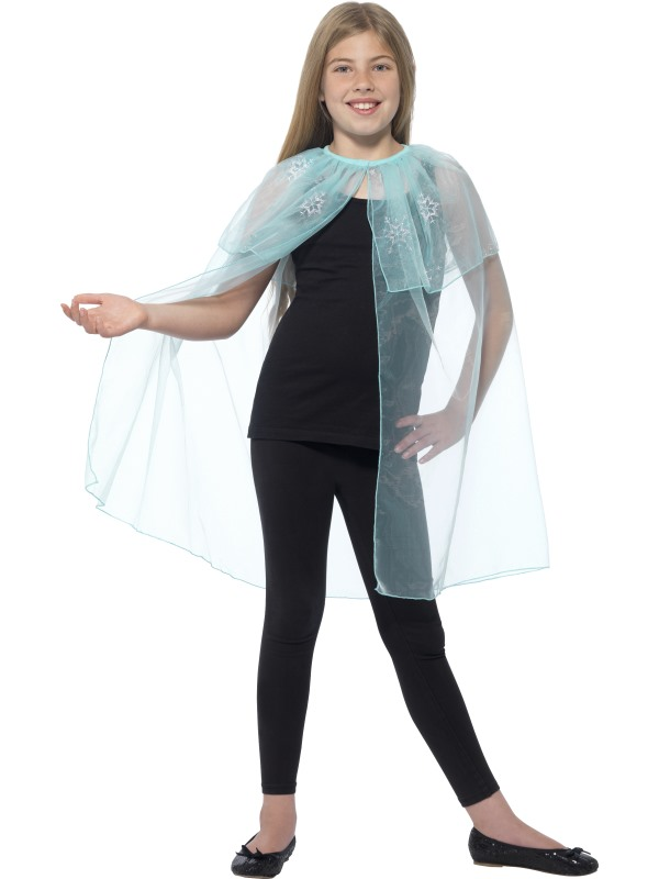 Girl's Snowflake Cape