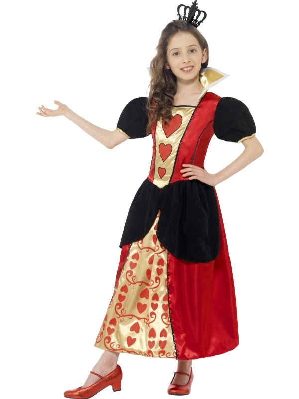 Girls Book Week Miss Hearts Costume Kids Fancy Dress Outfits