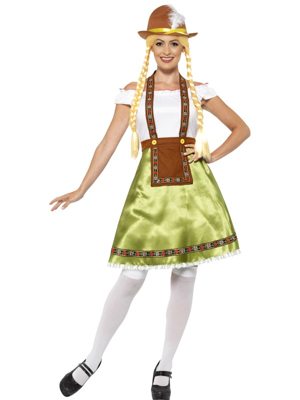 Women's Bavarian Maid Fancy Dress Costume