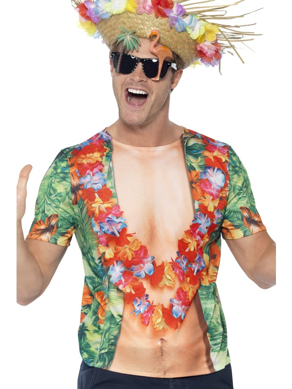 Hawaiian T-Shirt Fancy Dress