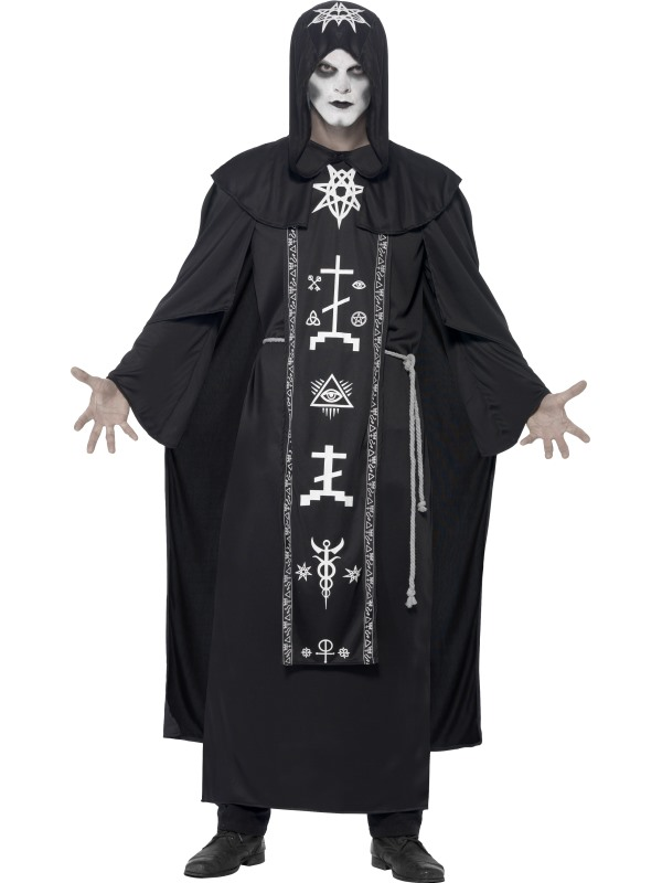 Men's Dark Arts Ritual Fancy Dress Costume