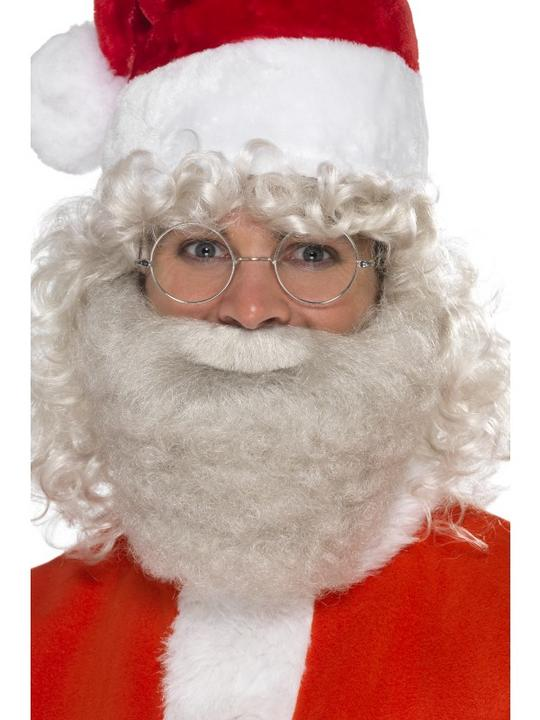 Deluxe Santa Beard Pearl