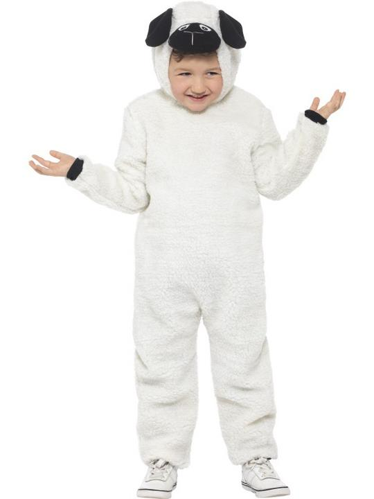 Kid's Sheep Fancy Dress Costume Thumbnail 1