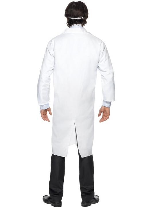 Doctors White Coat and Fancy Dress Mask Thumbnail 2