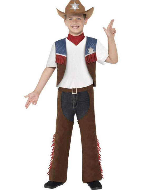 Texan Cowboy Costume Thumbnail 1
