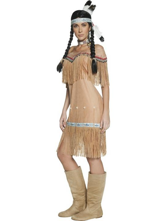 Authentic Western Indian Lady Fancy Dress Costume Thumbnail 2