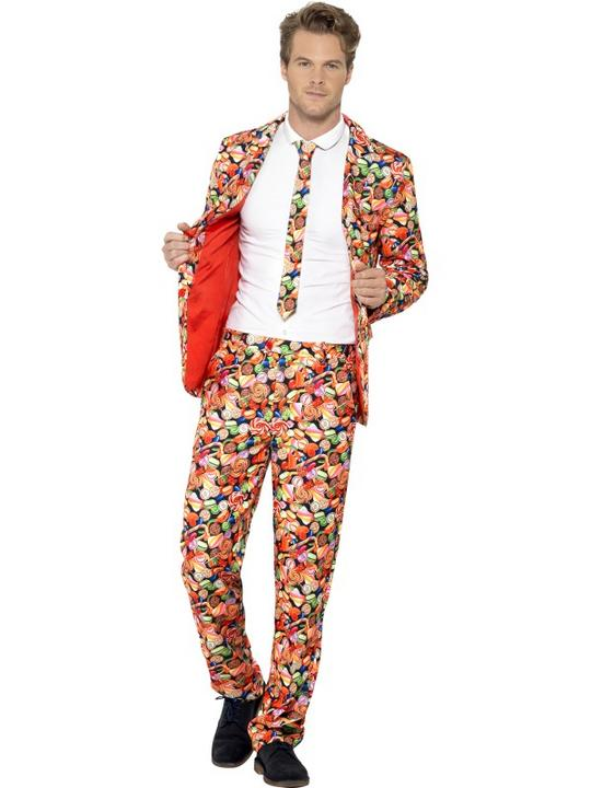 Men's Sweet Suit Fancy Dress Costume Thumbnail 1