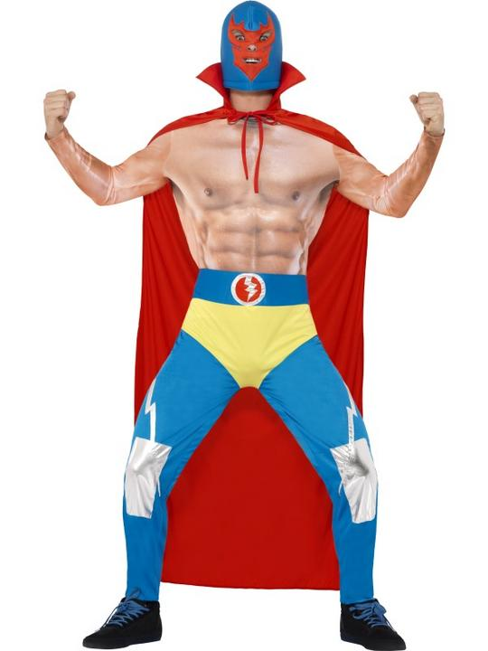 Mexican Wrestler Costume Thumbnail 1