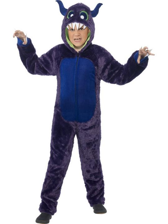 Boys Halloween Monster Costume Kids Horror Fancy Dress Outfit Thumbnail 1