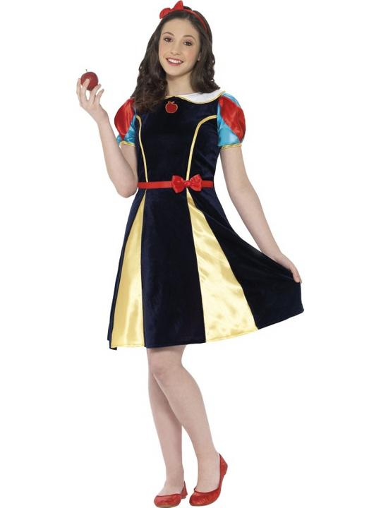 Girls Teen Book Week Fairest of Them All Costume Kids Fancy Dress Outfit Thumbnail 1