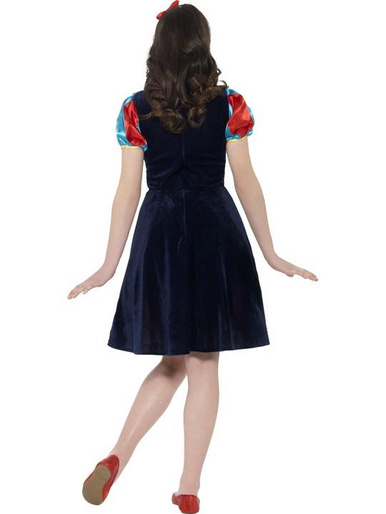 Girls Teen Book Week Fairest of Them All Costume Kids Fancy Dress Outfit Thumbnail 3