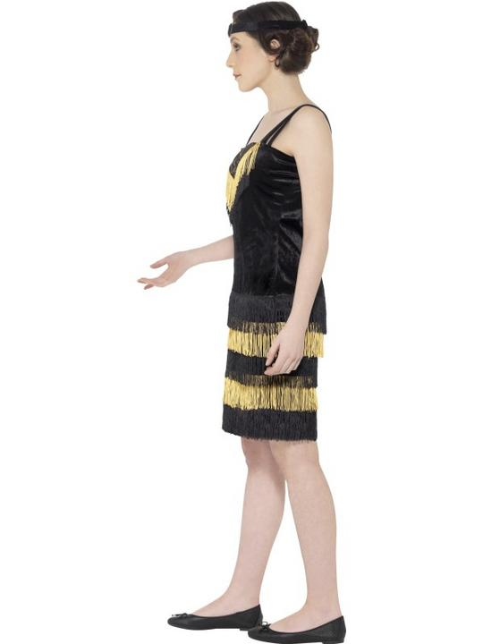 Teen Flapper Girl Fancy Dress Costume Thumbnail 2