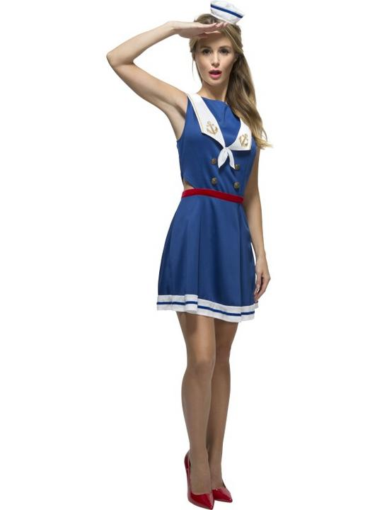 Women's Fever Hey Sailor Costume Thumbnail 1