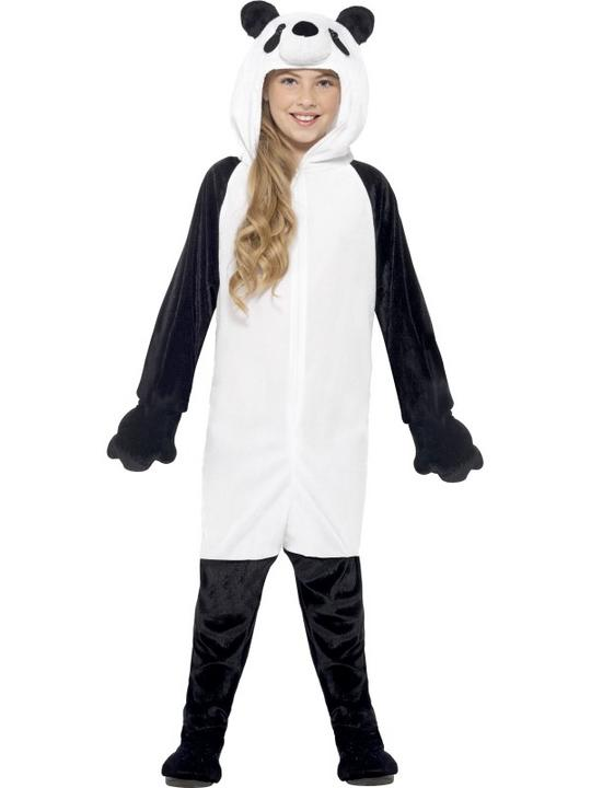 Kids Panda Fancy Dress Costume Thumbnail 1