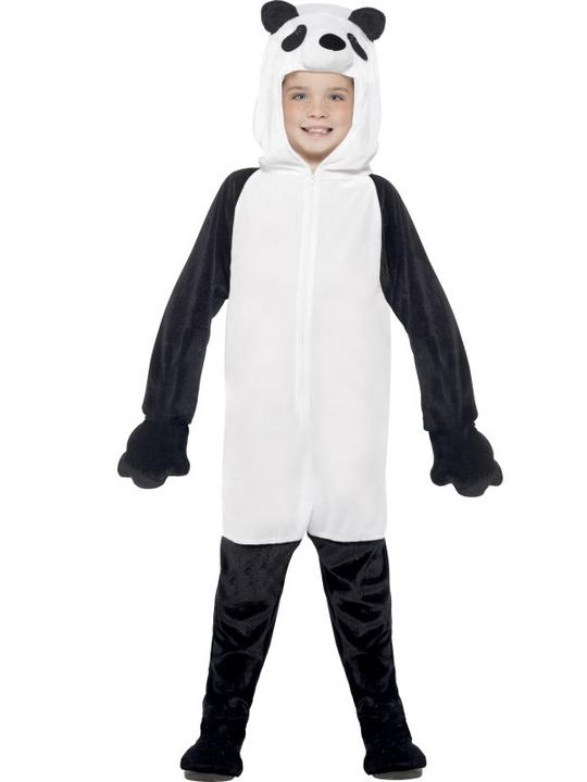 Kids Panda Fancy Dress Costume Thumbnail 2