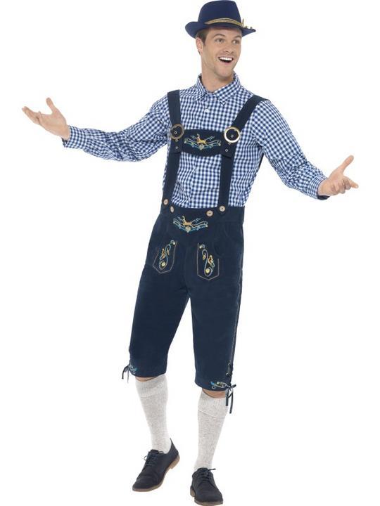 Traditional Deluxe Rutger Bavarian Costume Thumbnail 1