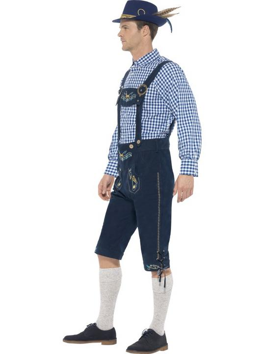 Traditional Deluxe Rutger Bavarian Costume Thumbnail 2
