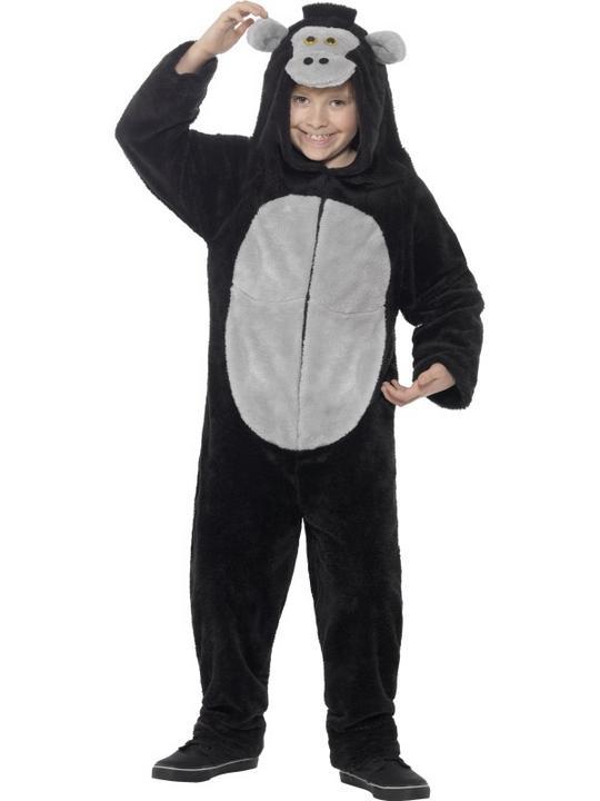 Gorilla Fancy Dress Costume Thumbnail 1