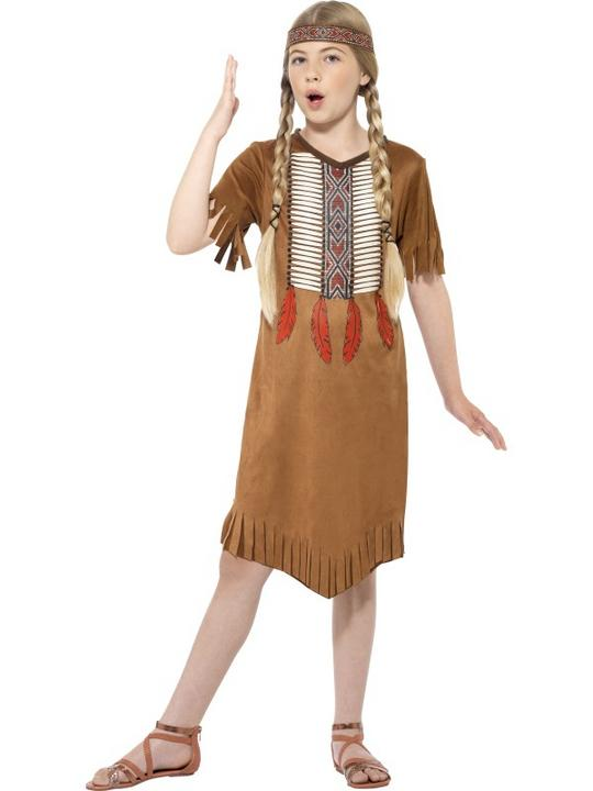 Native Indian Girl Costume Thumbnail 1