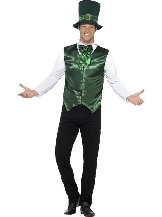 Men's Lucky Lad Fancy Dress Costume Thumbnail 1
