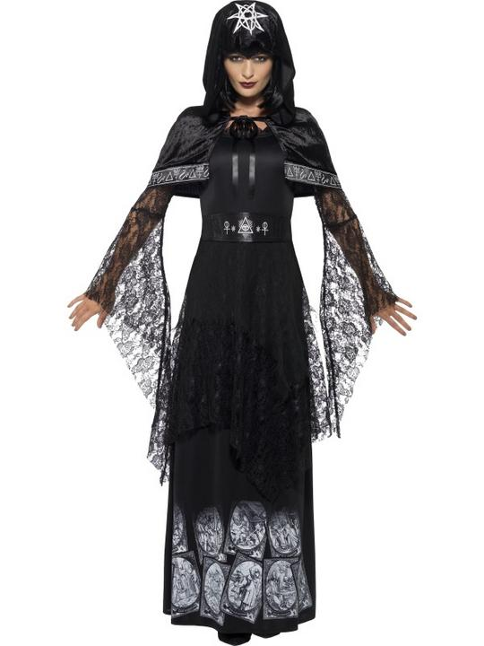 Women's Black Magic Mistress Costume Thumbnail 1