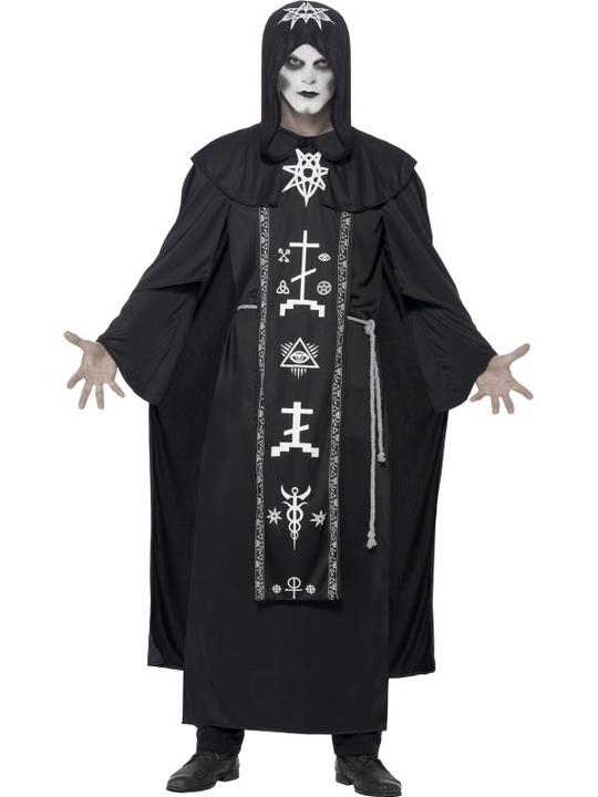 Men's Dark Arts Ritual Fancy Dress Costume Thumbnail 1