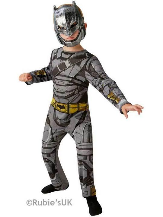 Boys BATMAN ARMOUR - DAWN OF JUSTICE Fancy Dress Costume Thumbnail 1