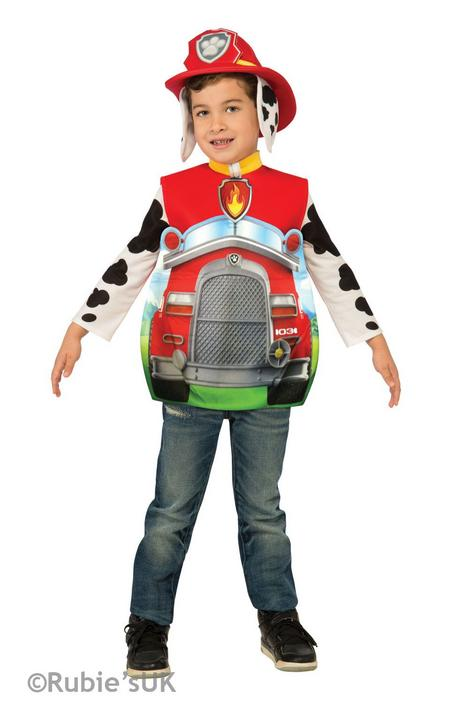 Paw Patrol Marshall Fancy Dress Costume Thumbnail 1