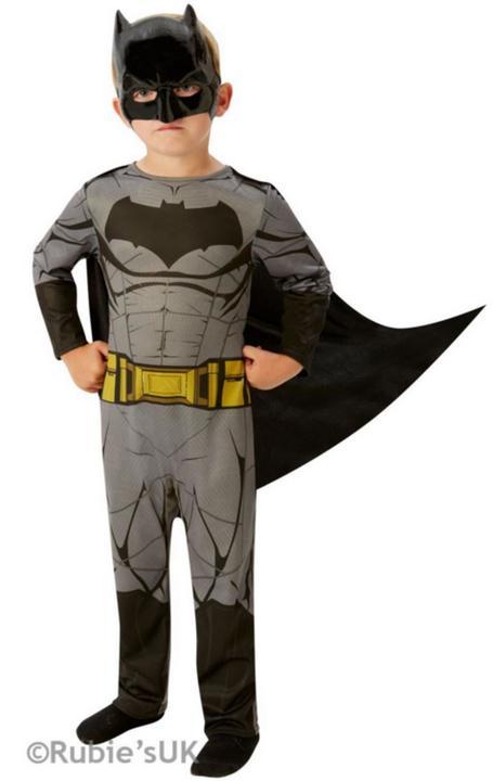 Boys BATMAN - DAWN OF JUSTICE Fancy Dress Costume Thumbnail 1