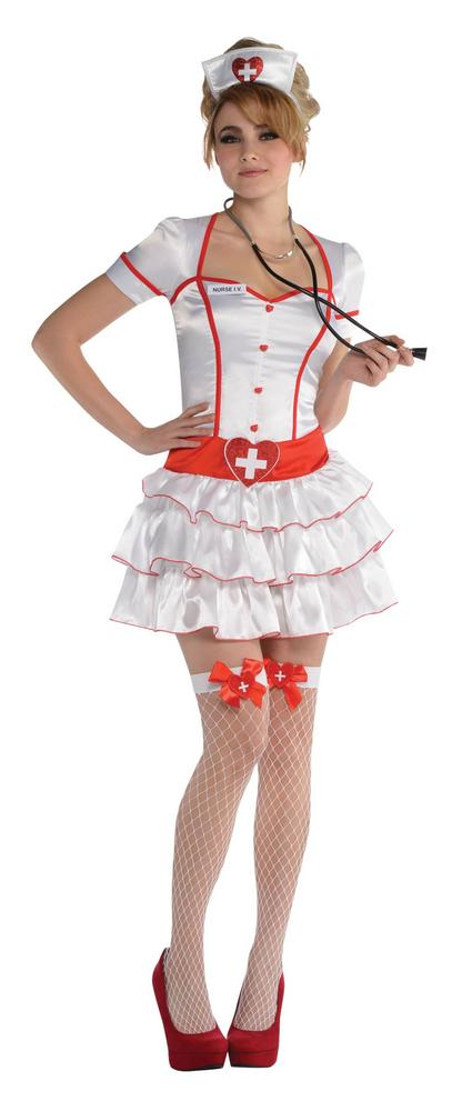 Nurse IV Fancy Dress Costume