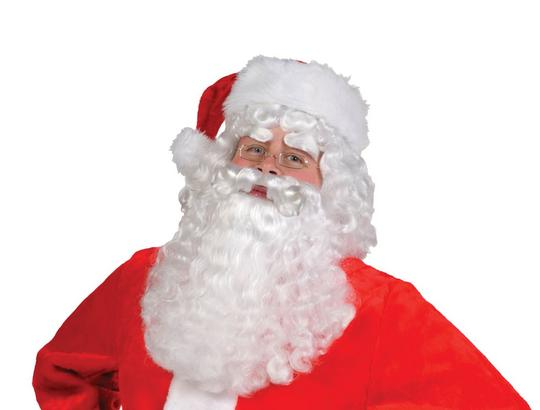 Santa Claus Wig And Beard Set  Thumbnail 1
