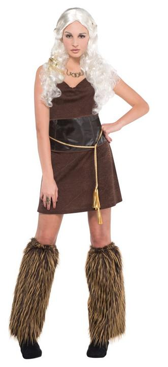 Women's Warrior Fancy Dress Costume Thumbnail 1