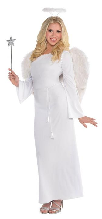 Women's Heaven Sent Fancy Dress Costume Thumbnail 1