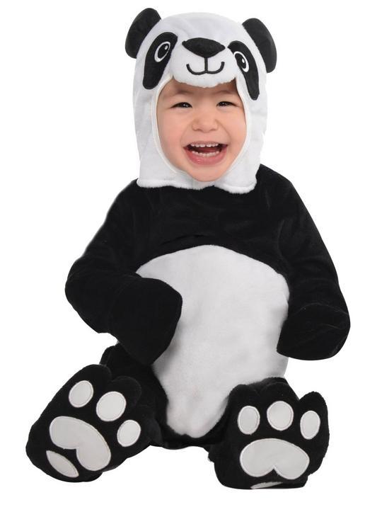 Baby Precious Panda Fancy Dress Costume  Thumbnail 1